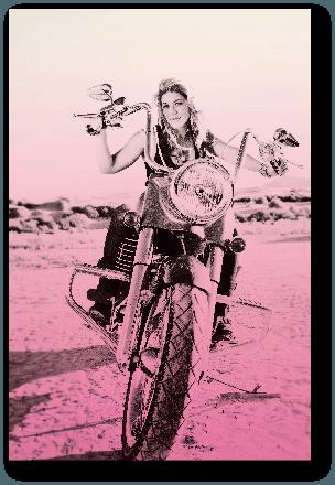Kelly Quinn: Throttle Girl!