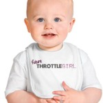 Future ThrottleGirl Baby Bib