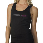 "ThrottleGirl ""Light it Up"" Logo Favorite Tank"